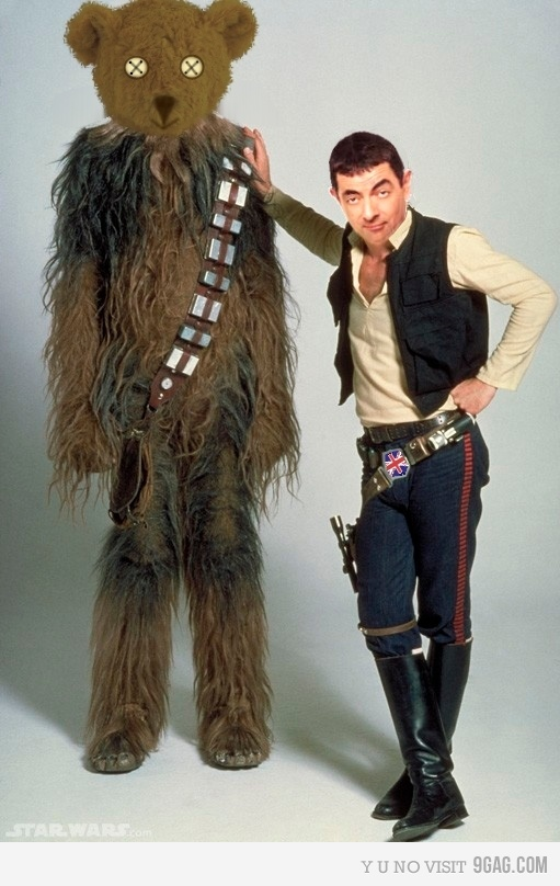 Mr. Bean & Star Wars
