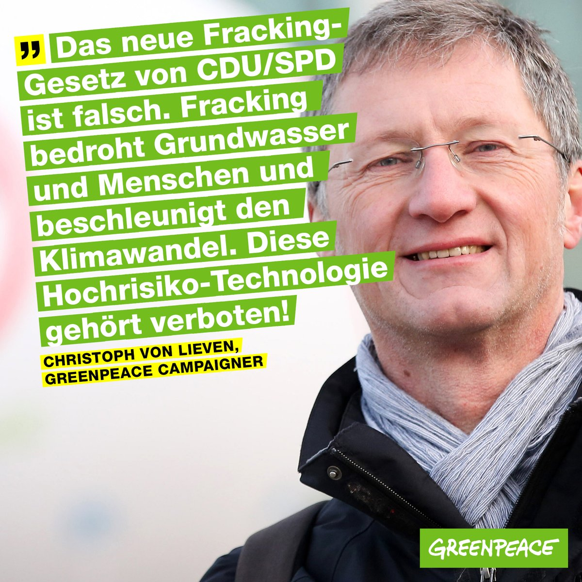 Greenpeace zu Fracking