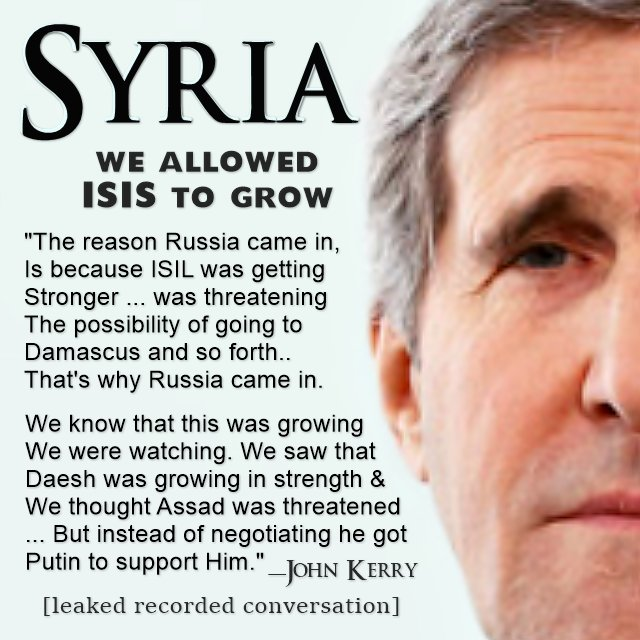 John Kerry about ISIS