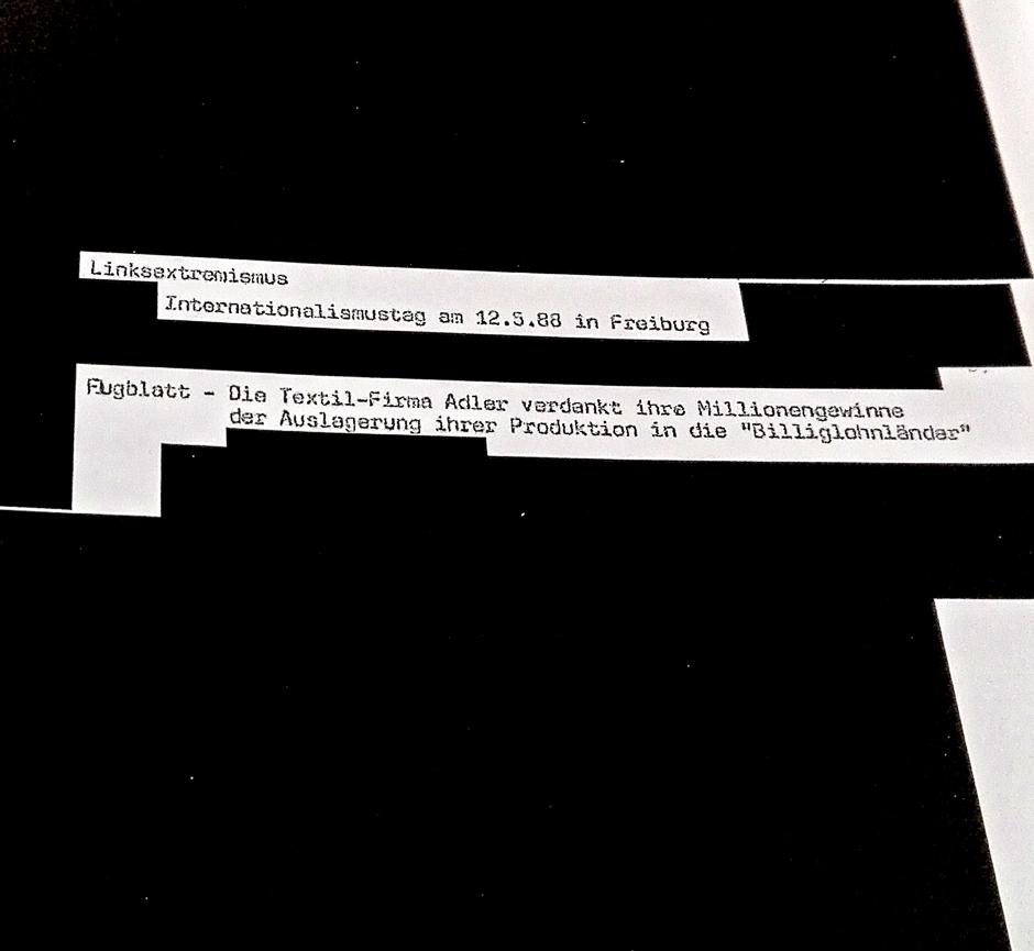 Schwarze Blog-Seiten