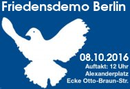 Demo in Berlin am 8.10.2016